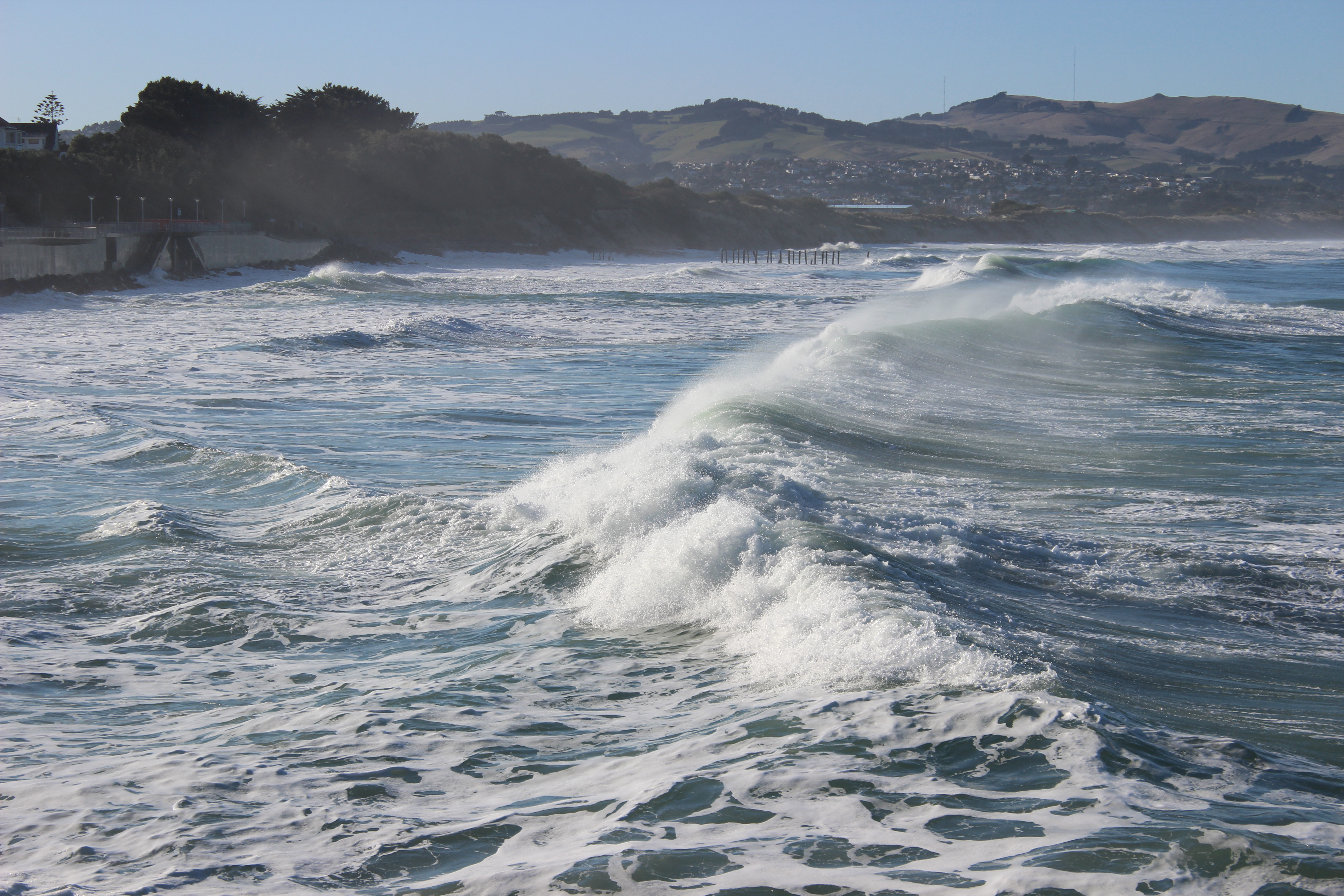 let your waves crash down on me: